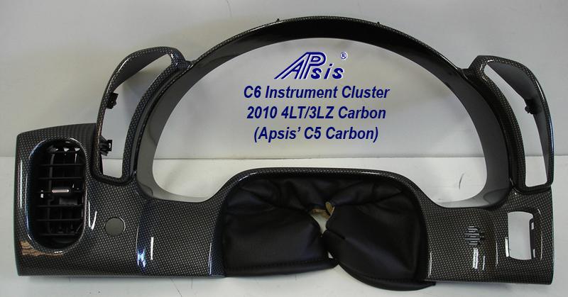 C6 Instrument Cluster-c5 carbon-full-1 no flash