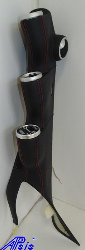 C6 Modified A-Pillar w-3 gauges-EB w-red-3