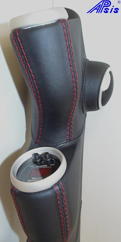 C6 Modified A-Pillar w-3 gauges-EB w-red-8 close shot