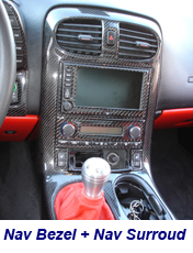 C6 Nav+AC Bezel+Nav Surround-installed-2 200