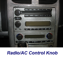 C6 Radio-AC Knob-CF-installed on jerseys car-1 250