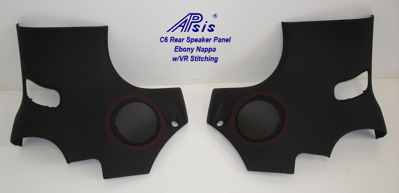 C6 Rear Speaker Panel-EB w-vr stitching-individual-3 pair