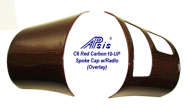 C6 Red Carbon-spoke cap w-radio-1