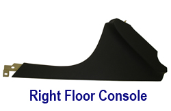 C6 Right Floor Console Panel-nappa meridian- 250