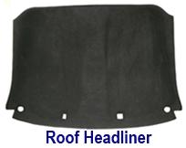 C6 Roof Headliner in Alcantara  250