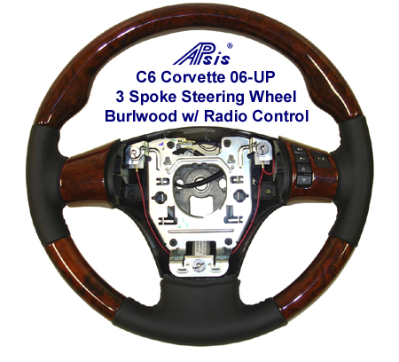 C6 SW 3 Spoke-w-Radio Control-burlwood-450