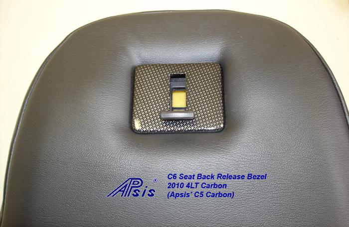 C6 Seat Back Release Bezel-C5CF-2