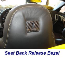 C6 Seat Back Release Bezel-CF-installed-1 250