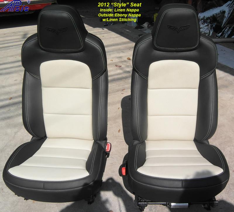 C6 Seat Cover 2012-ebony+linen-pair-2-outdoor