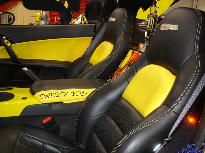C6 Seat Cover-lou ann-installed-2012 show-4