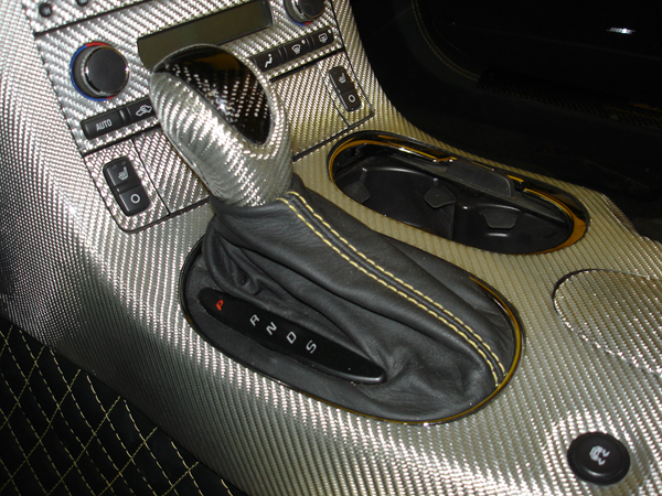 C6 Shift Boot-auto-installed-ebony nappa w-yellow stitching-1