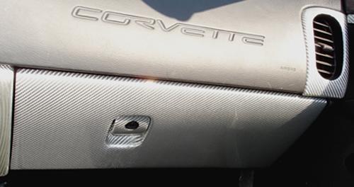 C6 Silver CF-Glove Box-installed-3-left view-crop