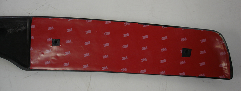 C6 Spoiler-show back side with full 3m tape-1
