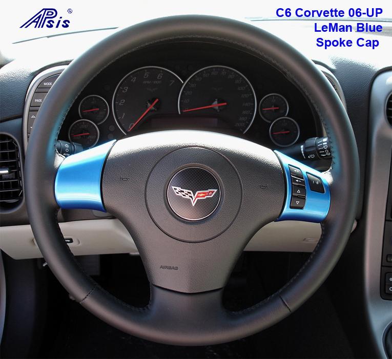 C6 Spoke Cap - LeMan Blue 06-UP w- Radio 765