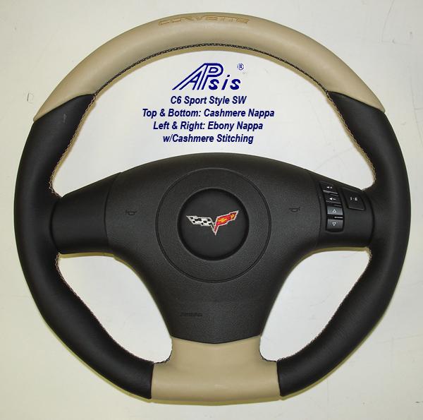C6 Sport SW-EB+CA w-covette lettering-2 w-o airbag cover