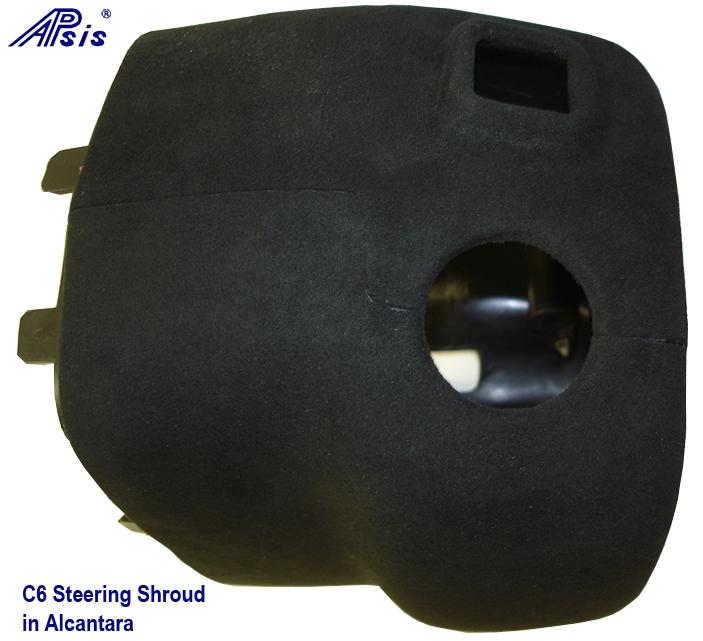 C6 Steering Shrouf in alcantara 702