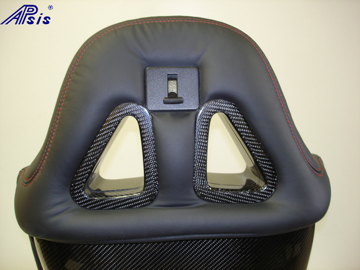 C6 SuperDeluxe Seat w-carbon panel-close shot-show top triangle-back side-1