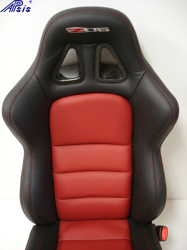 C6 SuperDeluxe Seat w-carbon panel-close shot-show upper seat-1
