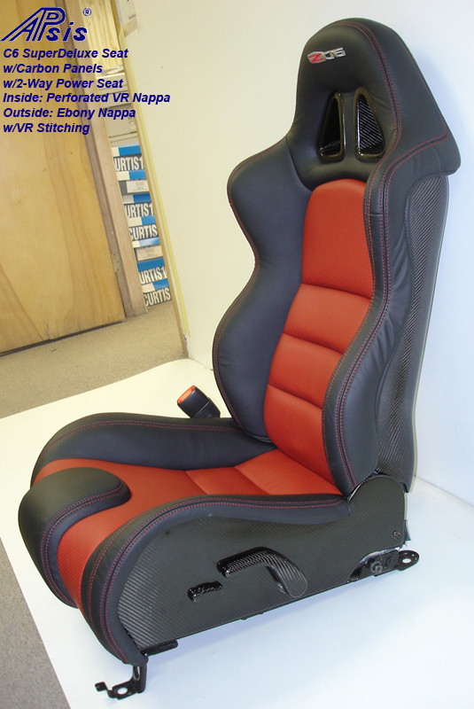 C6 SuperDeluxe Seat w-carbon panel-full-side view-driver-2