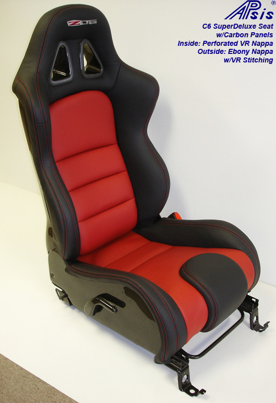 C6 SuperDeluxe Seat w-carbon panel-full-side view-pass-5