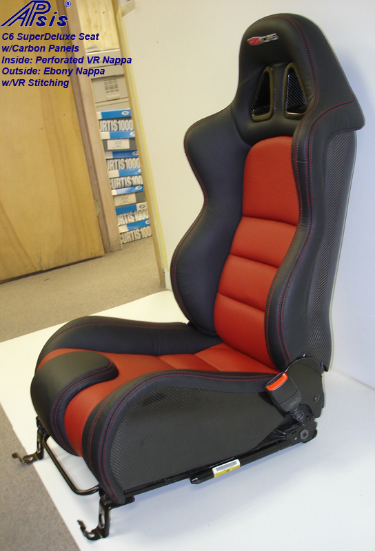 C6 SuperDeluxe Seat w-carbon panel-full-side view-pass-6