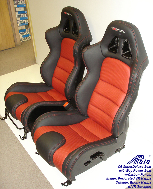 C6 SuperDeluxe Seat w-carbon panel-pair-side view-3
