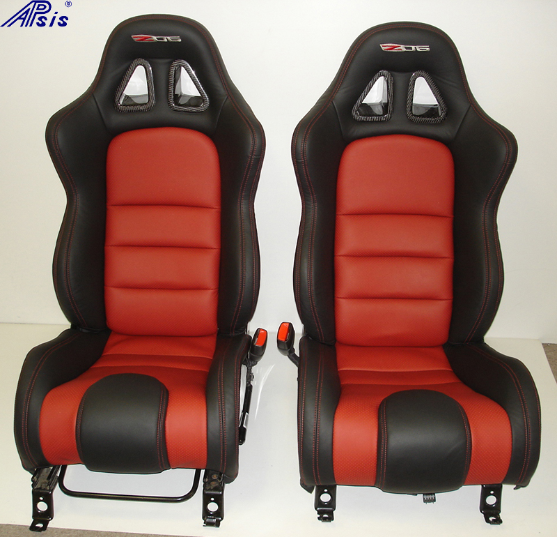 C6 SuperDeluxe Seat w-carbon panel-pair-straight view-1