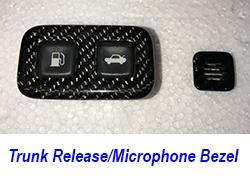 C6 Trunk Release Bezel-Microphone Bezel 250