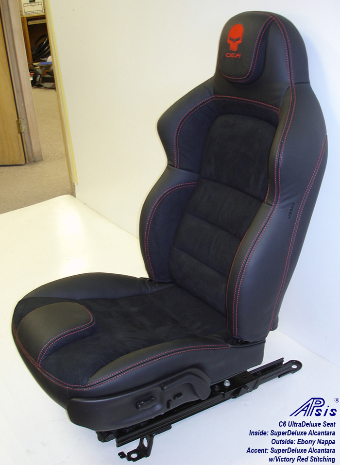 C6 UltraDeluxe Seat-EB+SA w-red stitching-driver-1