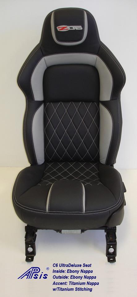 C6 UltraDeluxe Seat-EB+TI w-diamond stitching-individual-pass-straight-1