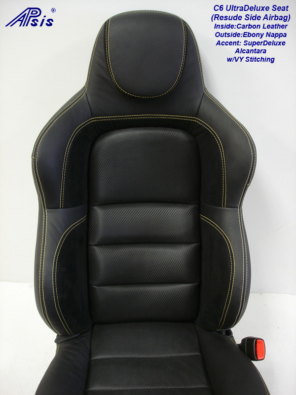 C6 UltraDeluxe Seat-finished-individual-close shot-upper-1
