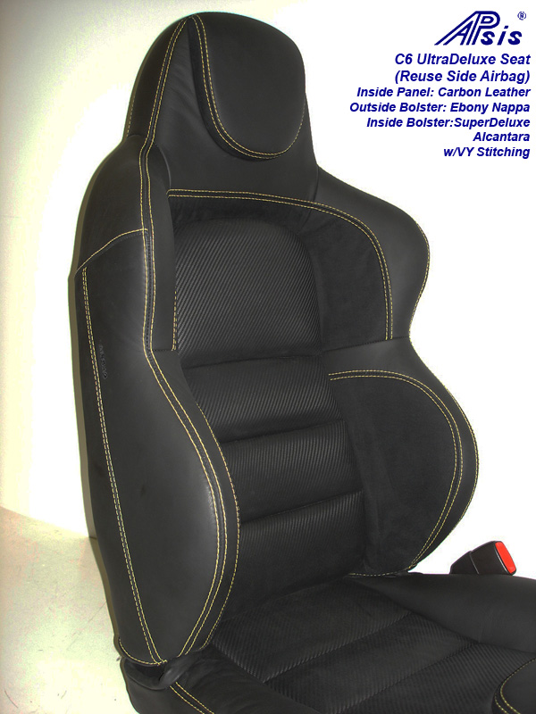 C6 UltraDeluxe Seat-finished-individual-close shot-upper-3