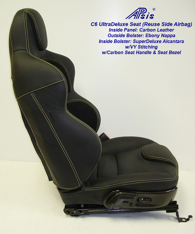 C6 UltraDeluxe Seat-finished-individual-full-side view-1-crop