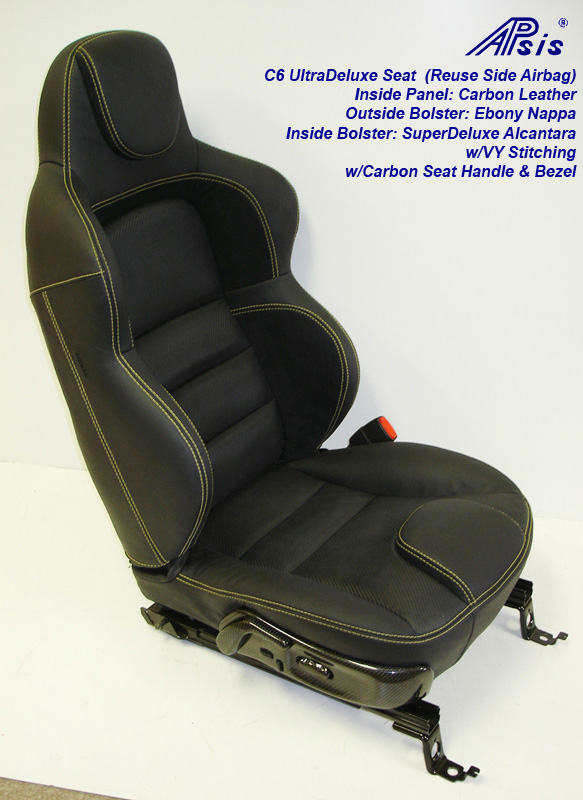 C6 UltraDeluxe Seat-finished-individual-full-side view-2-crop