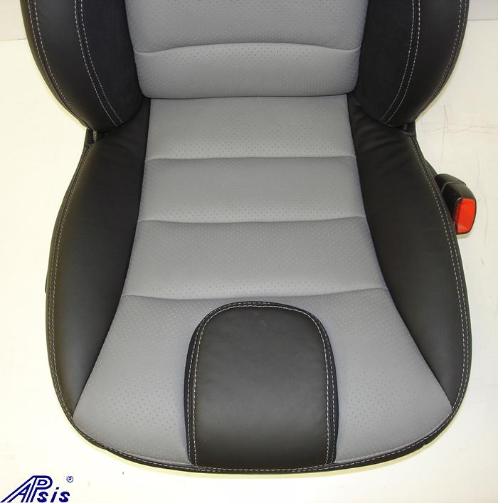 C6 UltraDeluxe Seat-perf dark titanium+ebony-lower seat only-1