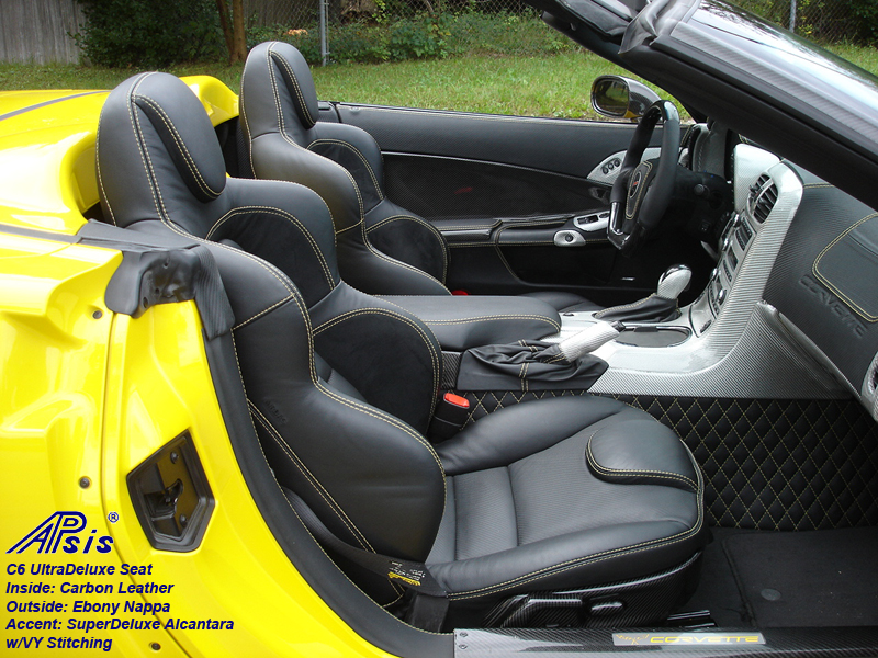 C6 UltraDepuxe Seat-EB+CL+SA-installed on jerseys car-pass view-1