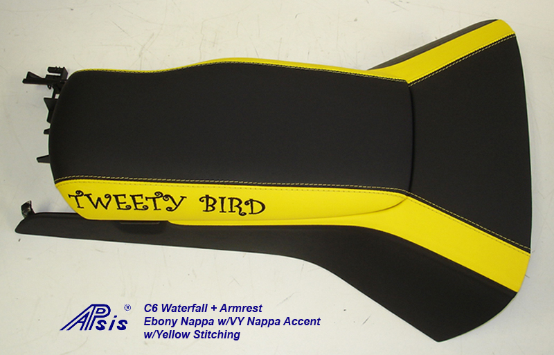 C6 Waterfall+Armrest-EB w-VY stripe w-tweety bird-left view-1