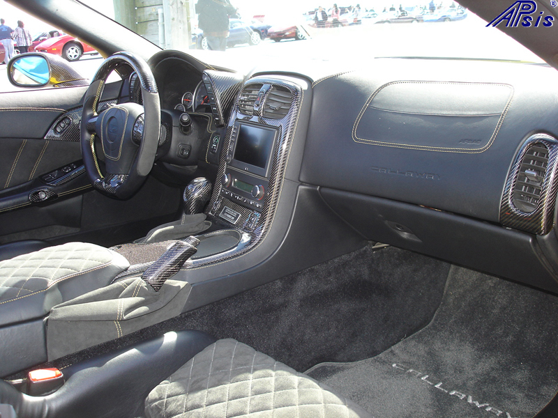 C6 Whole Interior-CF+EB+AL w-VY stitching-harolds car-7