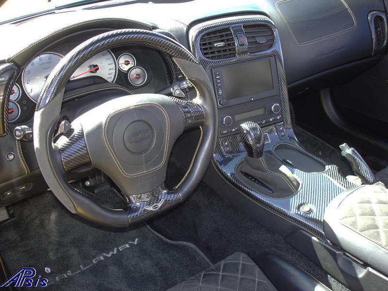 C6 Whole Interior-CF+EB+AL w-VY stitching-harolds car-8 sw