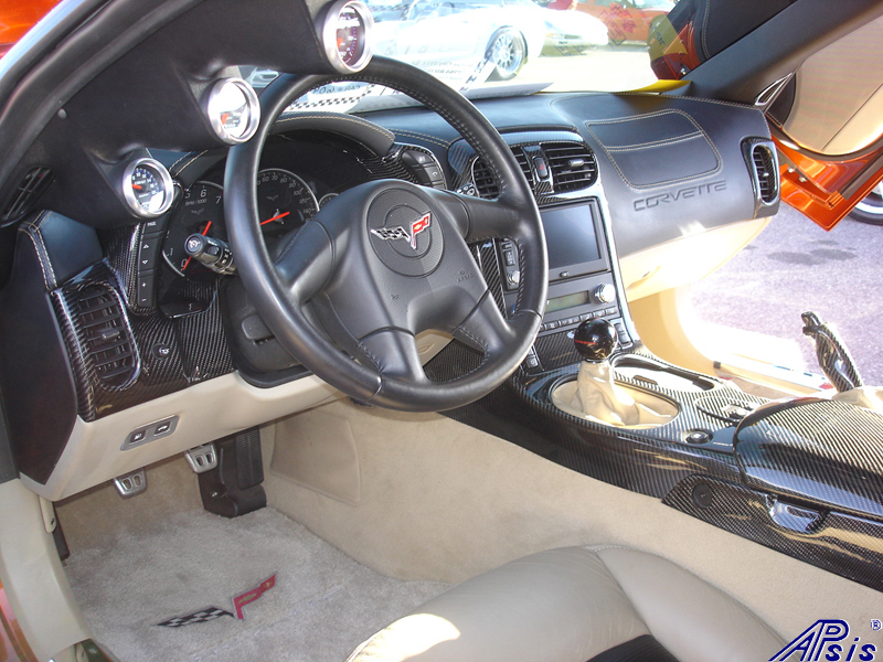C6 Whole Interior-CF+EB+CA-modified corvette-5 driver view