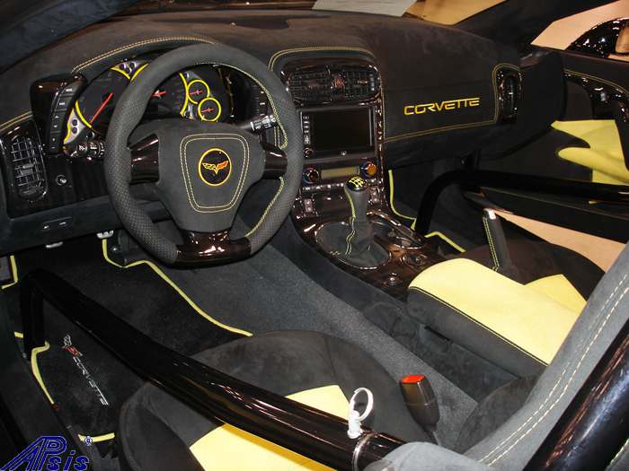 C6 Whole Interior-all alcantara w-yellow stitching-lou-3