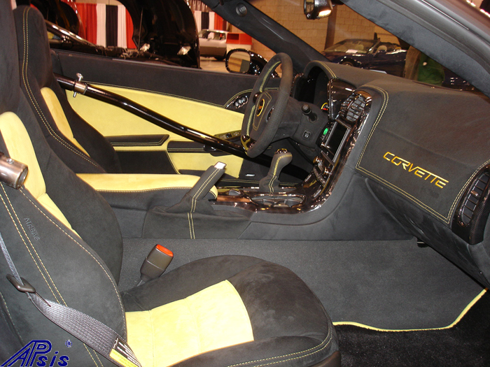 C6 Whole Interior-all alcantara w-yellow stitching-lou-6