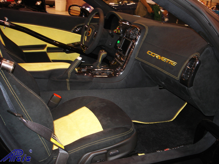 C6 Whole Interior-all alcantara w-yellow stitching-lou-7