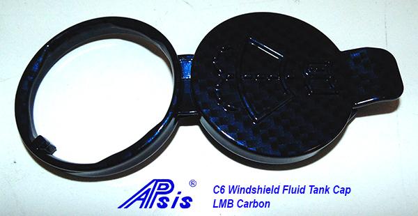 C6 Windshield Fluid Tank Cap-LMB Carbon-1