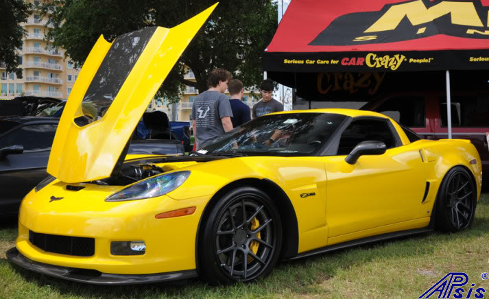C6 ZR1 Replica CF Splitter+Side Skirt-installed on vy z06-spoiled996-1-crop