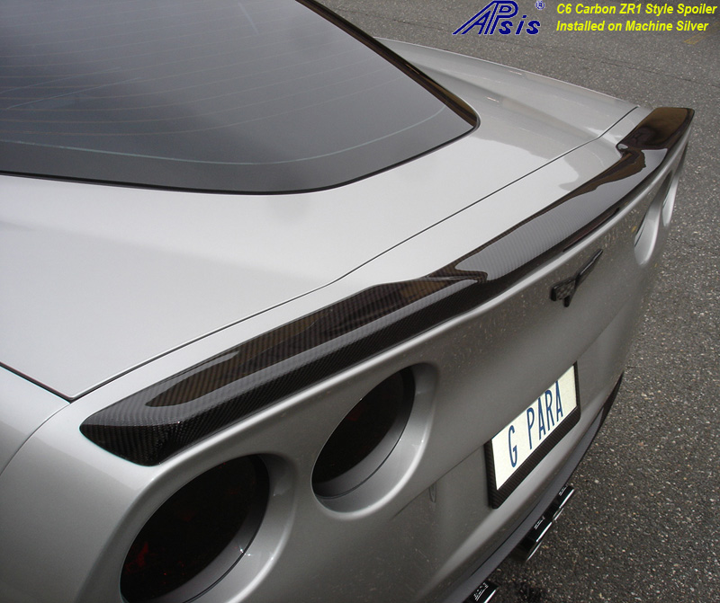 C6 ZR1 Style Spoiler-CF-installed on ms-1