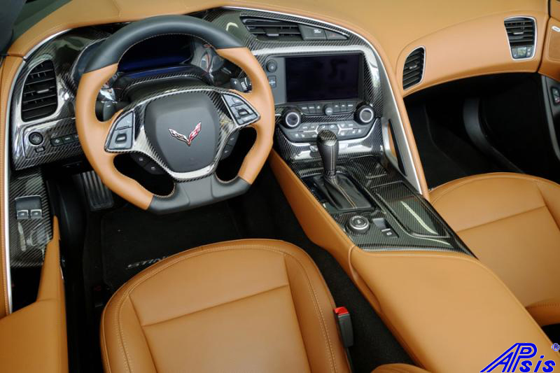 C7 Carbon Interior Installed-andys car-7