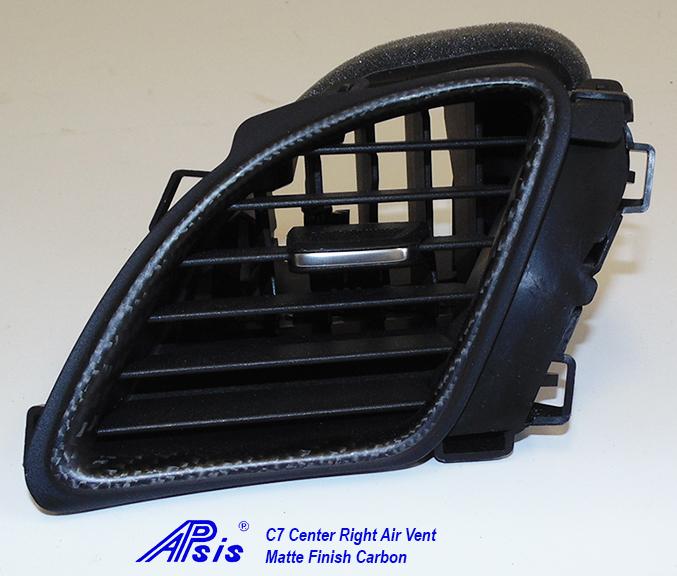 C7 Center Right Air Vent-matte-individual-2