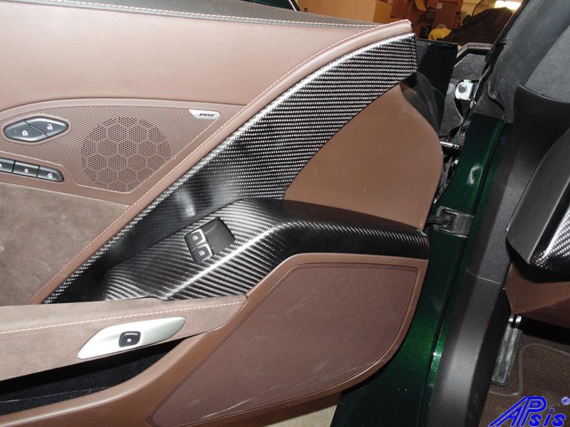 C7 Driver Power Window Bezel-matte-installed on jersey's car-1