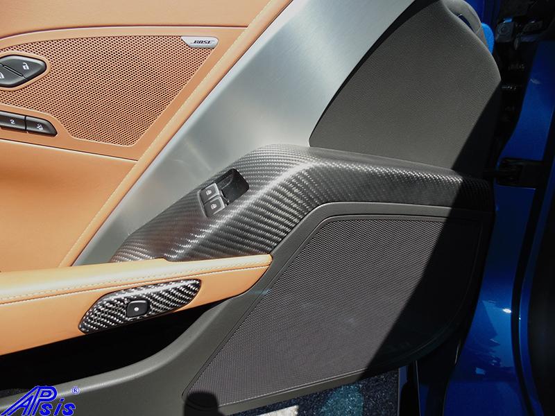 C7 Driver Power Window Bezel-matte-installed on scotts car-1